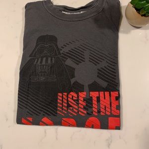 Boys Star Wars long Sleeve Shirt